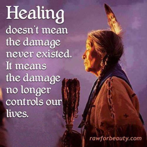 healing is