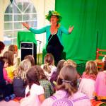 Mevrouw Groen tijdens de Dag buiten de Tijd